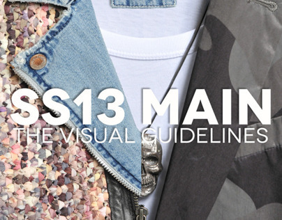 DIESEL Spring Summer 2013 MAIN - Visual Guidelines