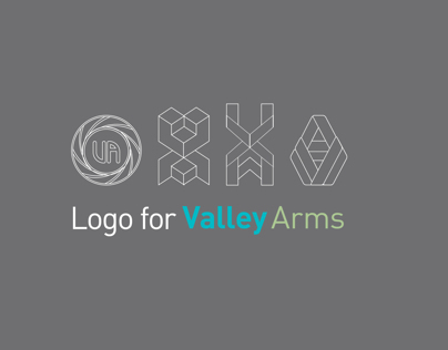Logo Design for Valley Arms Shooting Supplies