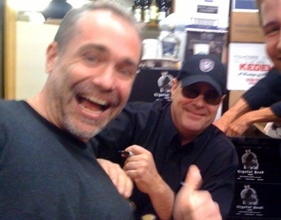Me (and Dan Aykroyd)
