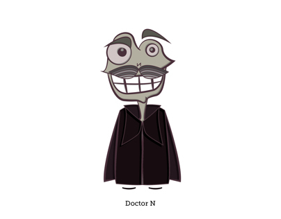 Doctor N. Illustration