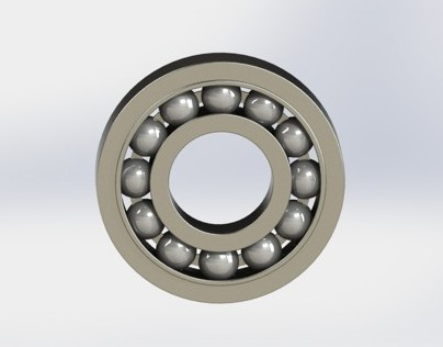 Motorbike sprocket carrying bearing