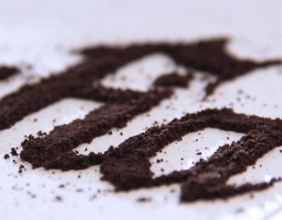 Cafégrafia   Coffee type experiment
