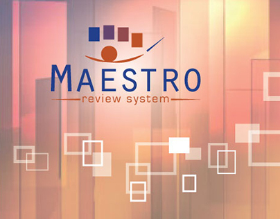 Web Design: MAESTRO Application