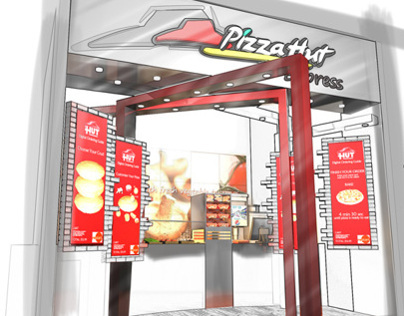 Pizza Hut Grab and Go Store