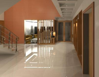 RENDERINGS OF PRIVATE RESIDENCE -04, HYDERABAD.