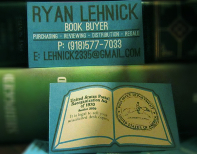 Business Card - Ryan Lehnick