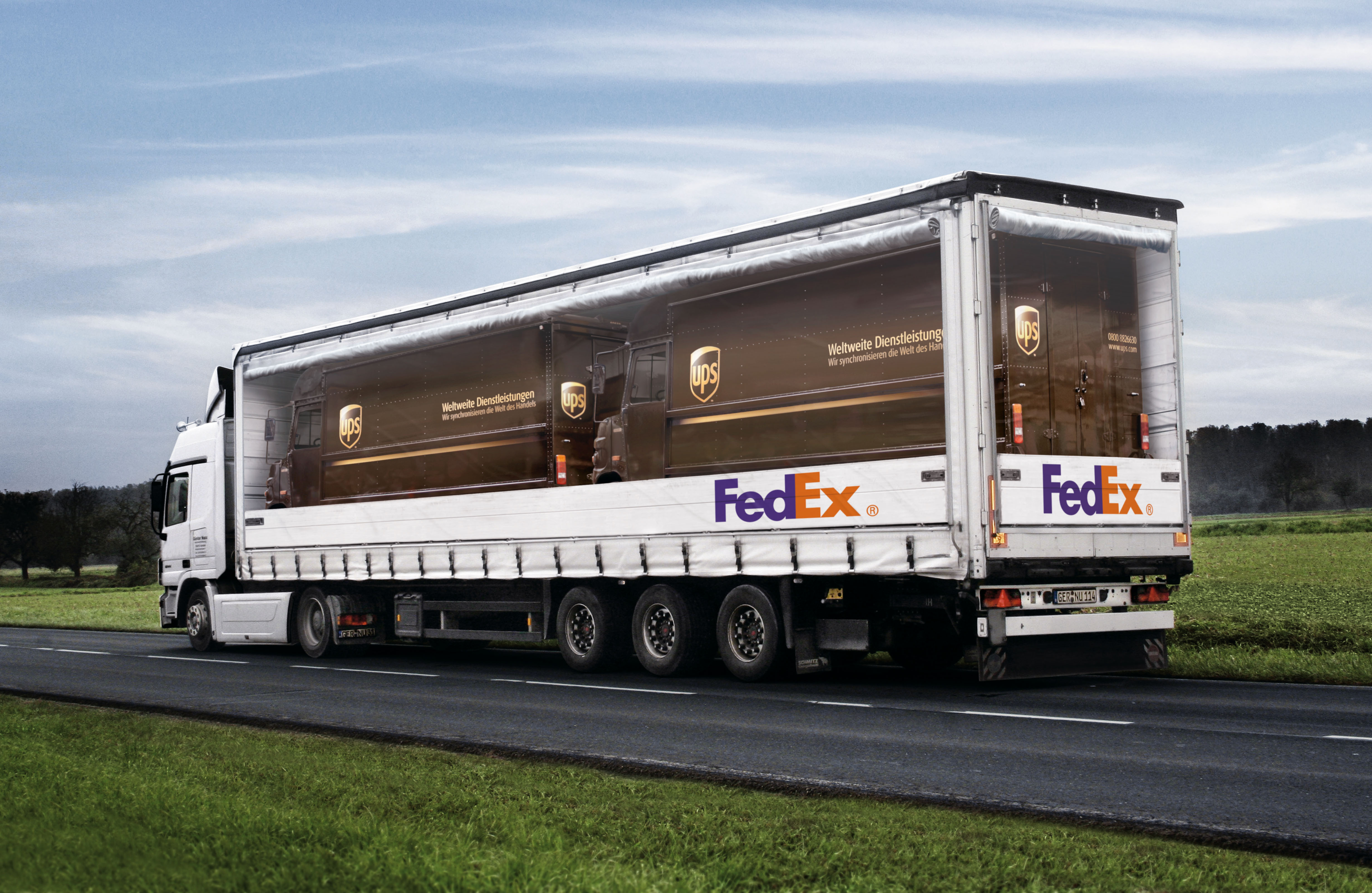FedEx 'Pickaback'