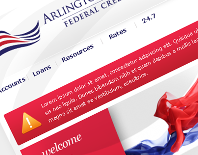 Arlington Federal Credit Union UI