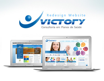 Redesign Website Victory Consulting