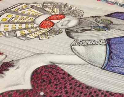 Illustration- City Girls