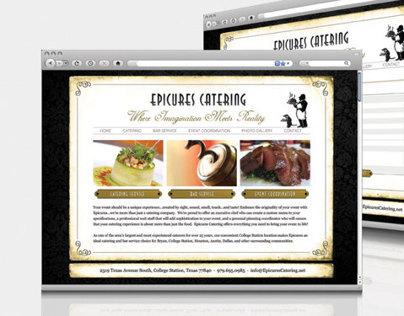 Epicures Catering Website