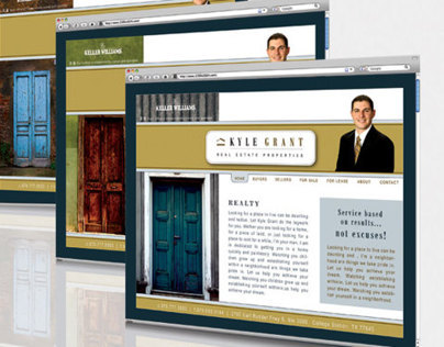 Kyle Grant Properties Website