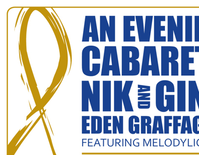 An Evening Cabaret Flyer