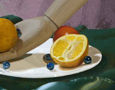 Realistic Digital Still Lifes
