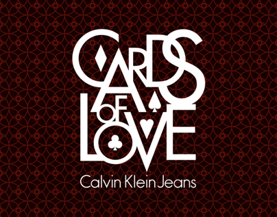 Cards of Love - Calvin Klein