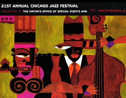 Chicago Jazz Festival  |  Illustrations