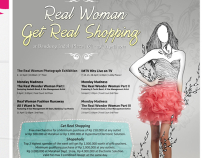 Bandung Indah Plaza Real Woman Get Real Shopping