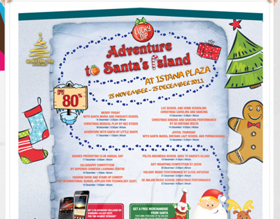 Istana Plaza | Adventure to Santas Island