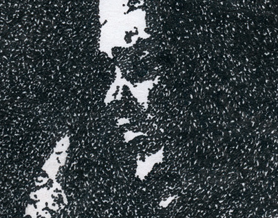 Pointillism: Jimi Hendrix Isle of Wight Festival