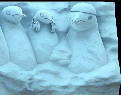Kinder Pingui - 3D Modeling