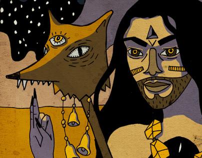 Myth Frangments Illustration