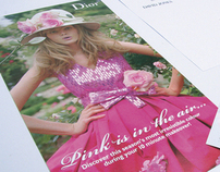 Dior Cherie brochure for DAVID JONES