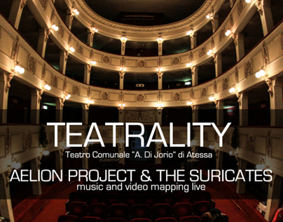 TEATRALITY - Aelion Project & The Suricates live