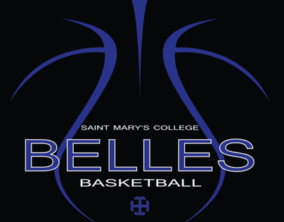 Saint Marys College Basketball Team Logo