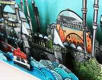 pop-up book for istanbul