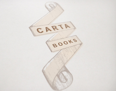 Carta Books Logo & Poster Design