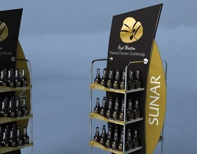 SUNAR DISPLAY STAND