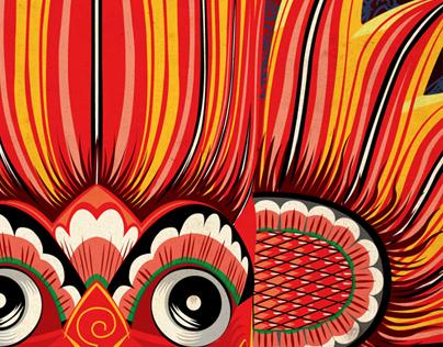 Sri Lankan Illustrations