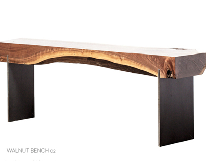 WALNUT BENCH 102
