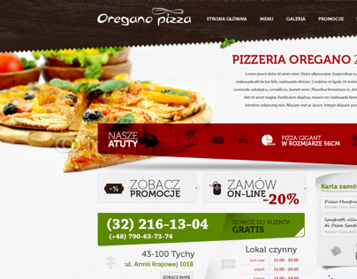 Oregano pizza