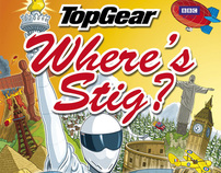 Top Gear - Wheres Stig? The World Tour book