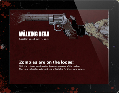 The Walking Dead - Location Based Game