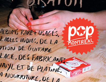 POP Montreal Event Posters