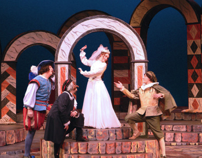 The Taming of the Shrew- Set Design