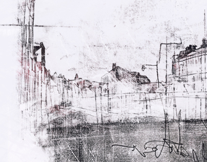 Harbour Monoprints