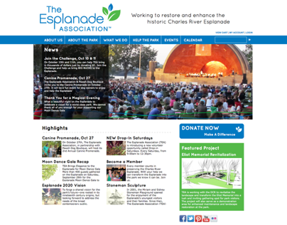 The Esplanade Association Website