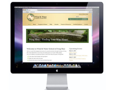 Website Redesign for Wind & Water School