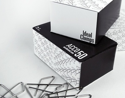 ideal clamp packaging mockup