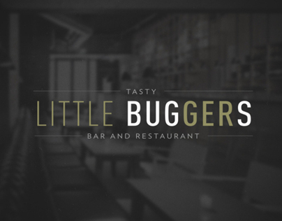 Restaurant Concept & Design - Tasty Little Buggers
