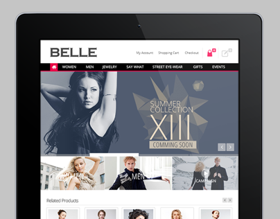BELLE - ecommerce