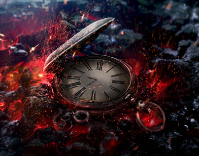 Remnants of time - Photo-Manipulation