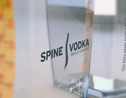 Spine Vodka Concept