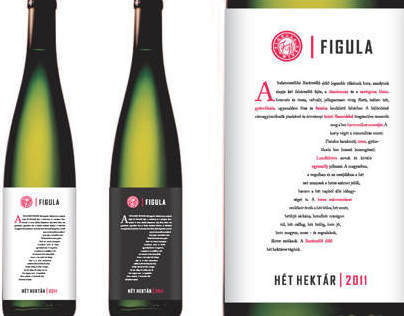 Figula wine label concept