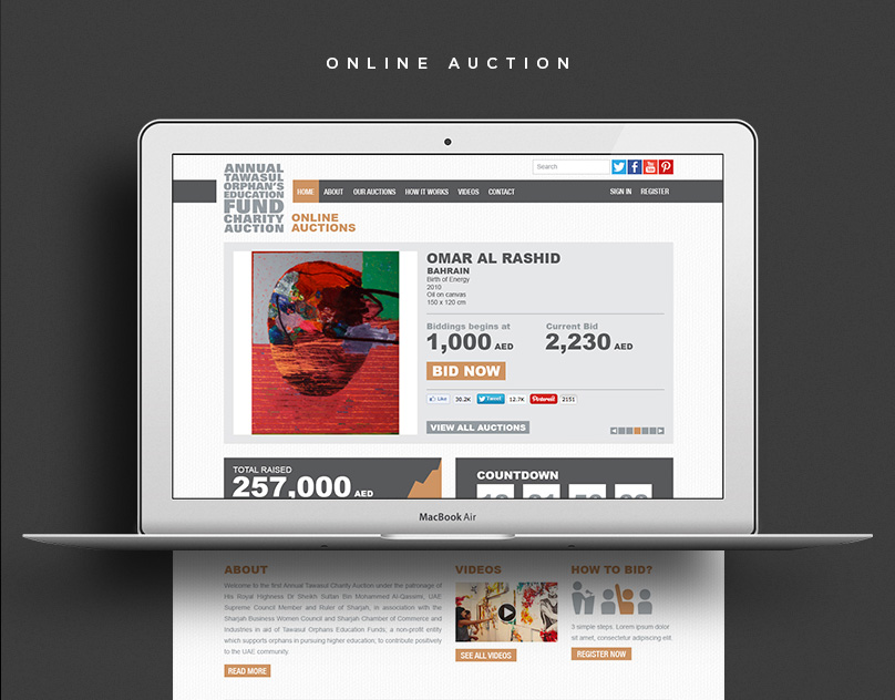 Tawasul Online Charity Auction