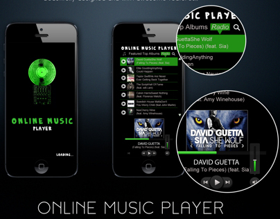 Online Music Player App