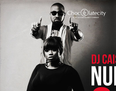Cover Design Dj Caise ft Waje Number one